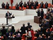 صور.. البرلمان التركى يوافق على إجراء انتخابات رئاسية مبكرة فى 24 يونيو