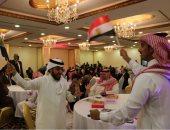 صور..اتحاد المصريين بالسعودية يقيم احتفالا بمناسبة فوز السيسى بالانتخابات