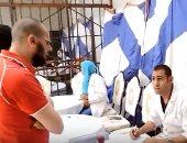 إجراء الكشف الطبى على السجناء والمحتجزين ورجال الشرطة و627 مواطناً بكفر الشيخ