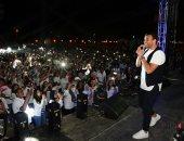 صور.. رامى صبرى والعسيلى يتألقان فى ختام حفل MSA   بحضور آلاف الطلاب
