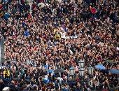 صور.. 30 ألف شخص يتظاهرون فى أرمينيا ضد الرئيس.. والشرطة تعتقل المئات