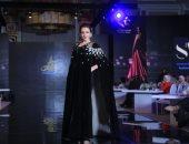 صور.. الأسود يكتسح مجموعة أزياء شيخة الغيثى بأسبوع الموضة الأردنى وفستان زفاف بنكهة إماراتية