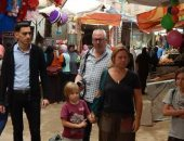 صور .. فوه تستقبل أسرة أمريكية لزيارة معالم المدينة الأثرية