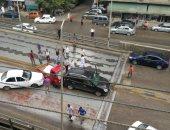مصرع شخص  في حادث تصادم برأس البر