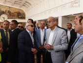 رئيس الوزراء يترأس اجتماعا للقيادات التنفيذية بمحافظة بورسعيد - صور