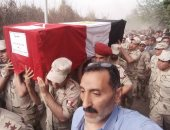 """صور ..ابن عم شهيد المنوفية: """"كان يشعر بقرب موته وأمنيته كانت الشهادة"""""""