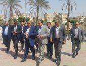 صور.. وزير الصحة يصل مستشفى الإسماعيلية استعدادا لزيارة رئيس الوزراء