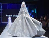 الرمادى والبيبى بلو يسيطران على أزياء المحجبات بمهرجان الموضة الإسلامية بجاكرتا