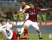 بينفينتو يضرب ميلان بهدف فى سان سيرو بالدوري الإيطالي.. فيديو