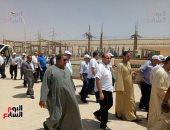وفد البرلمان يزور السد العالى ومحطة توليد الكهرباء بحضور محافظ أسوان