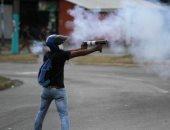 صور.. اشتباكات عنيفة مع المتظاهرين فى نيكاراجوا تتحول لحرب شوارع مع الشرطة