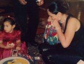 شريهان تنشر صورا قديمة من طفولة ابنتها الكبرى فى ذكرى عيد ميلادها