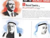 تعرف على 6 مصريين ضمن قائمة أثرياء العرب.. ثرواتهم 18.2 مليار دولار