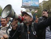 الشرطة تعتقل نيكول باشينيان زعيم الحركة الاحتجاجية فى أرمينيا