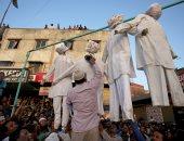 صور.. مظاهرات فى الهند تطالب بإعدام منفذى حادث الاغتصاب الجماعى لطفلة