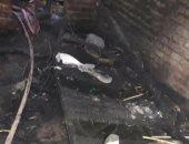 مصرع مدرس فى حريق نشب داخل منزله بقرية هربيط بالشرقية
