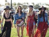 """""""طاقية المشاهير"""".. ارتدتها 4 نجمات بمهرجان """"Coachella"""".. والسبب """"انستجرام"""""""