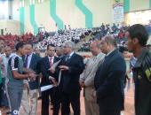رئيس جامعة جنوب الوادى يشهد اليوم الرياضى لطلاب الجامعة - صور