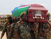 صور.. جنوب السودان يشيع جثمان الجنرال جيمس أجونق رئيس أركان الجيش الشعبى