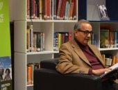 سمير جريس وكرم يوسف فى ندوة حول الأدب الألمانى بـ معرض أبوظبى للكتاب 2018