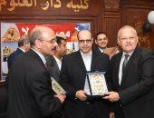جامعة القاهرة تكرم أكرم القصاص ومحمد ثروت