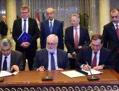 فيديو وصور.. رئيس الوزراء يشهد توقيع مذكرة تفاهم بين الاتحاد الأوروبى والبترول والكهرباء