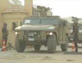 مقتل 15 إرهابيا فى تبادل إطلاق نار مع قوات الأمن بالعريش