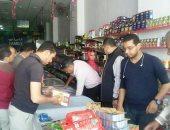 تحرير 114 محضر نقص وزن للمخابز وللمحال التجارية والمحطات البترولية بكفر الشيخ