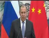 وزير الخارجية الروسى: مزاعم استخدام أسلحة كيمائية بدوما مسرحية استفزازية