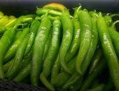 الفلفل الأخضر الحار يساعد فى فقدان الوزن ويحمى من السكر