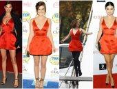 فستان واحد من dior  و5 نجمات.. مين الأحلى؟