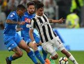 مواجهات يوفنتوس المتبقية تقرب نابولى من لقب الدوري الايطالي