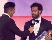 محمد صلاح: فخور بجائزة الأفضل فى إنجلترا.. وأتمنى الفوز بدورى الأبطال