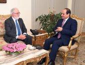 مفوض الطاقة الأوروبى للسيسي: مصر أصبحت محورا مهما للغاز فى المنطقة
