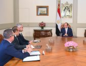 السيسى لرئيس ABB العالمية التكنولوجية: مهتمون بتحول مصر لمركز إقليمى للطاقة