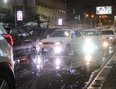 """المرور: تجمعات لمياه الأمطار بالطرق وسط انتشار """"سيارات الشفط"""""""