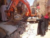 """صور..مديرة المتابعة الميدانية بالأقصر تتابع أعمال رفع كفاءة شوارع """"أبو الجود"""""""