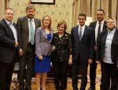 """""""خارجية البرلمان"""" تلتقى وفدا من مجموعة الصداقة الإستونية المصرية"""