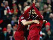 فيديو.. خروج محمد صلاح من مباراة ليفربول وروما بعد 75 دقيقة