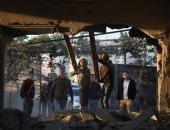 """صور.. سلطات الاحتلال الإسرائيلى تفجر """"بالديناميت"""" منزل أسير فى جنين"""