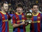 مدير فرانس فوتبول يعتذر لعدم منح انييستا الكرة الذهبية فى 2010