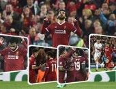 الأسطورة صلاح يقود ليفربول للفوز على روما بخماسية