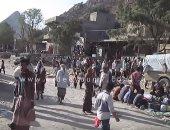 شاهد جولة بسوق الربوع القديم على طريق تعز باليمن