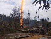 صور.. مقتل 18 وإصابة 40 آخرين فى حريق ببئر نفط بإقليم اتشيه الإندونيسى