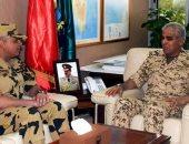 البحرين ومصر يبحثان التعاون العسكرى المشترك