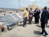 صور.. سكرتير عام الإسكندرية يشدد على الانتهاء من تجهيز الكورنيش