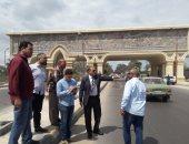 صور.. السكرتير العام المساعد يتفقد أعمال تطوير مدخل إسكندرية الزراعى