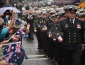 """صور.. القوات الأسترالية تحتفل بذكرى يوم """"أنزاك"""" بعروض عسكرية فى سيدتى"""