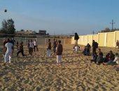 شباب سيناء يعبرون عن تطلعاتهم لمستقبل واعد لأرض الفيروز فى يوم تحريرها
