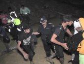 تفاصيل إنقاذ أمن القاهرة 21 طالبا بعد فقدان أثرهم بمحمية وادى دجلة.. صور